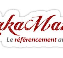 YakaMama Brand Sticker
