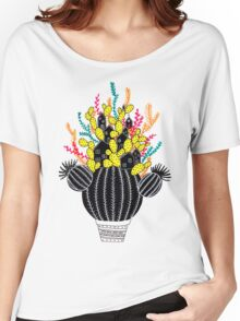 In my cactus Women's Relaxed Fit T-Shirt