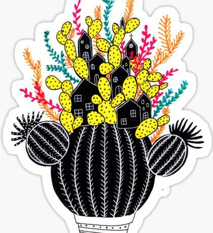 In my cactus Sticker