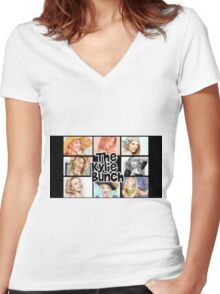 Kylie Minogue - Brady Bunch Edition Women's Fitted V-Neck T-Shirt