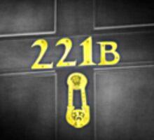 221B Baker St Sticker