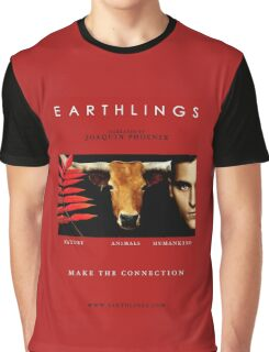 """Earthlings"" Movie Cover Graphic T-Shirt"