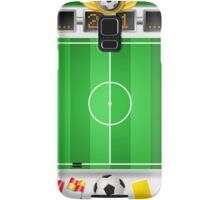 Infographic Set of Soccer Field and Icons Samsung Galaxy Case/Skin