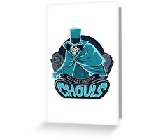 Gracey Manor Ghouls Greeting Card