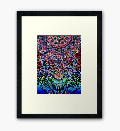 Mandala Energy Framed Print