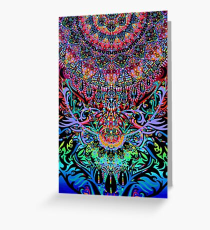 Mandala Energy Greeting Card