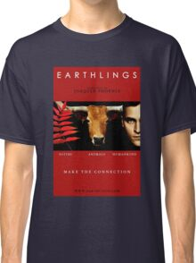 """""""Earthlings"""" Movie Cover Classic T-Shirt"""