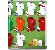 Isometric Uniforms Set of Soccer World Cup  iPad Case/Skin