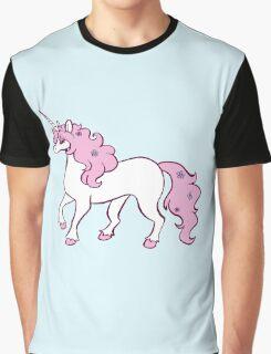 Pink Unicorn Graphic T-Shirt