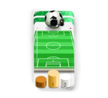 Soccer Field with Soccer Ball and Podium Samsung Galaxy Case/Skin