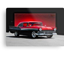 1957 Ford Fairlane 500 Hardtop Metal Print