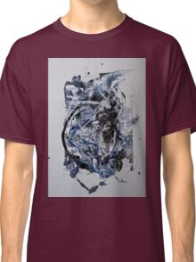 Back to the Future - Original mixed media Abstract painting Classic T-Shirt