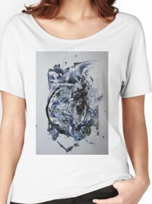 Back to the Future - Original mixed media Abstract painting Women's Relaxed Fit T-Shirt