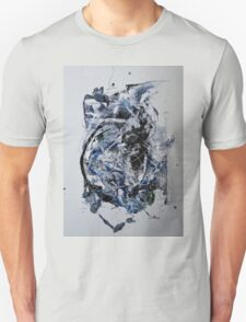 Back to the Future - Original mixed media Abstract painting Unisex T-Shirt