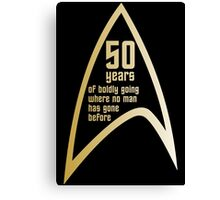 Star Trek 50th Anniversary Canvas Print