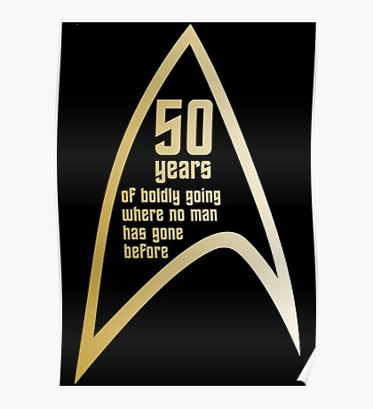 Star Trek 50th Anniversary Poster