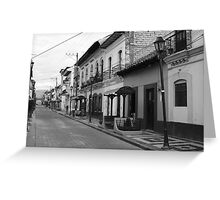 Cotacachi Street Greeting Card