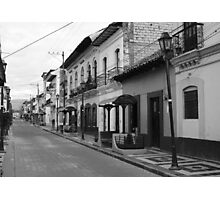Cotacachi Street Photographic Print