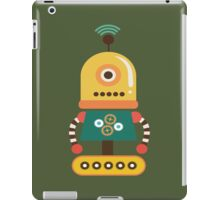 Quirky Retro Wind-up Robot Toy iPad Case/Skin