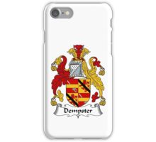 Dempster Coat of Arms / Dempster Family Crest iPhone Case/Skin