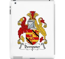Dempster Coat of Arms / Dempster Family Crest iPad Case/Skin