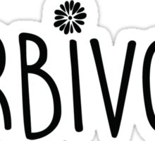 Herbivore (Vegan) Sticker