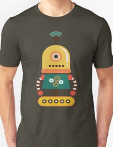 Quirky Retro Wind-up Robot Toy Unisex T-Shirt