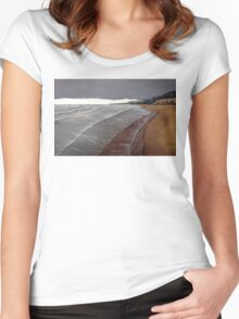 Racing the Storm Women's Fitted Scoop T-Shirt