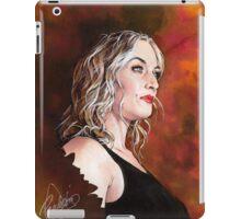 Kate Winslet Watercolor portrait iPad Case/Skin