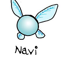 Navi The Fairy by amyjowett