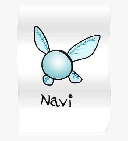 Navi The Fairy Poster