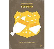 No315 My Superbad minimal movie poster Photographic Print