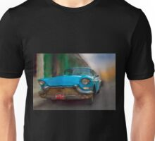Old Blue Car. Cuba Unisex T-Shirt