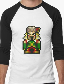 Final Fantasy 6: Laughing Kefka Men's Baseball ¾ T-Shirt