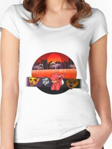Hotline Miami 2 - Character Select Women's Fitted Scoop T-Shirt