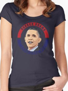 Barack Obama Women's Fitted Scoop T-Shirt