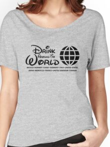 Drink Around the World - Epcot Women's Relaxed Fit T-Shirt