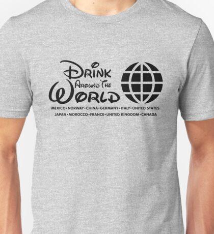 Drink Around the World - Epcot Unisex T-Shirt