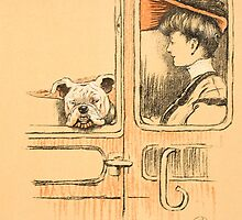 Travelling in First Class by Bridgeman Art Library