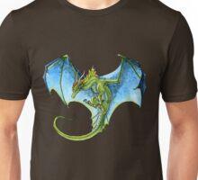 Azure-Winged Dragon Unisex T-Shirt