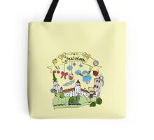 cool city with animals Tote Bag