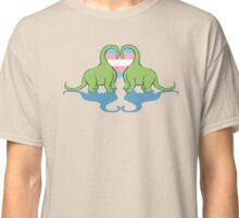 Trans Pride - Dino Love Classic T-Shirt