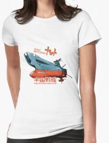 JAPAN ANIME SPACE BATTLESHIP YAMATO STAR BLAZERS COSMO  Womens Fitted T-Shirt