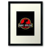 Park Offline Framed Print