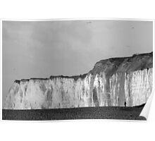 Newhaven cliffs Poster