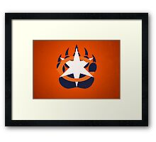 Big Bear Paw - Alternate Framed Print