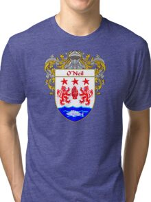 O'Neil Coat of Arms / O'Neil Family Crest Tri-blend T-Shirt