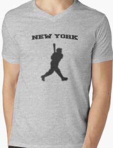 babe ruth Mens V-Neck T-Shirt