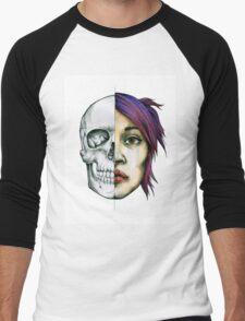 Anatomical Skull Study/Portrait Men's Baseball ¾ T-Shirt
