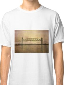 Cape Cod Canal and Bridges Classic T-Shirt